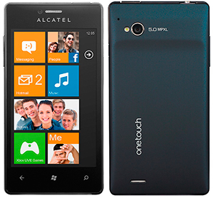 Смартфон Alcatel OneTouch View(5040)-WP7