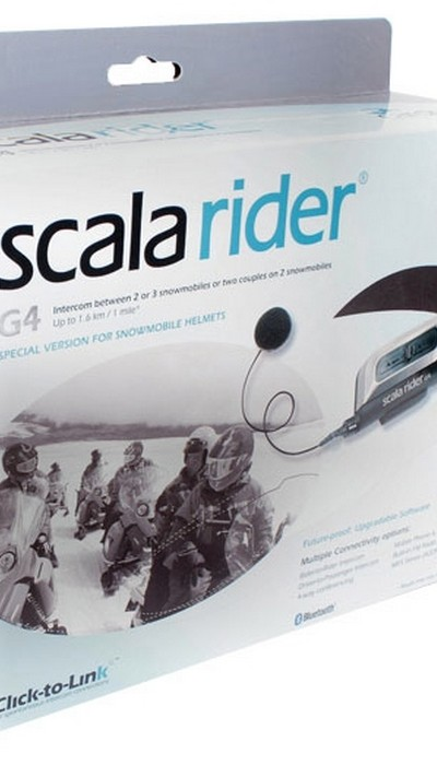 Cardo Scala Rider G4 Snowmobile